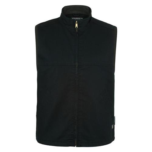 Wolverine FR Black Canvas Vest