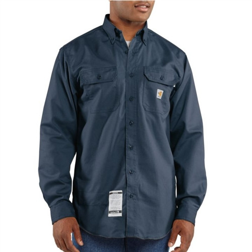 Carhartt Flame Resistant Twill Shirt with Pocket Flaps