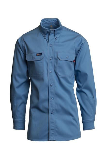 Lapco Fire Resistant Shirt Blue