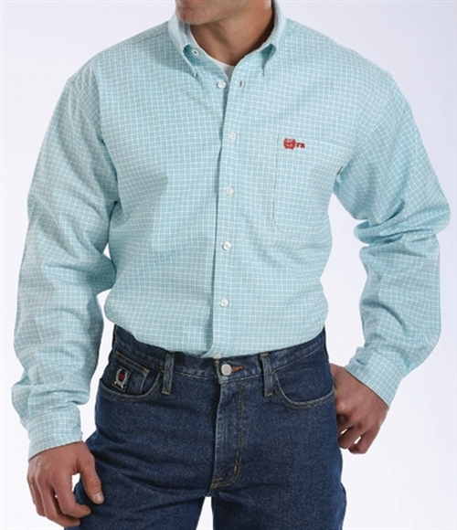 Cinch FR WRX Turquoise Work Shirt