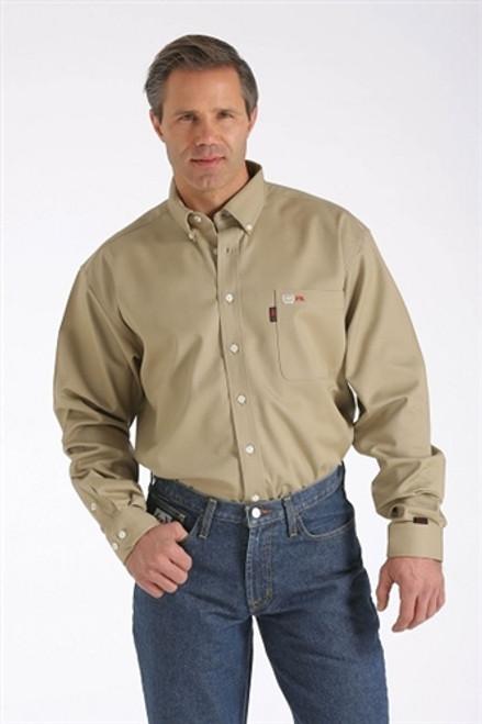 Cinch FR WRX Khaki Work Shirt
