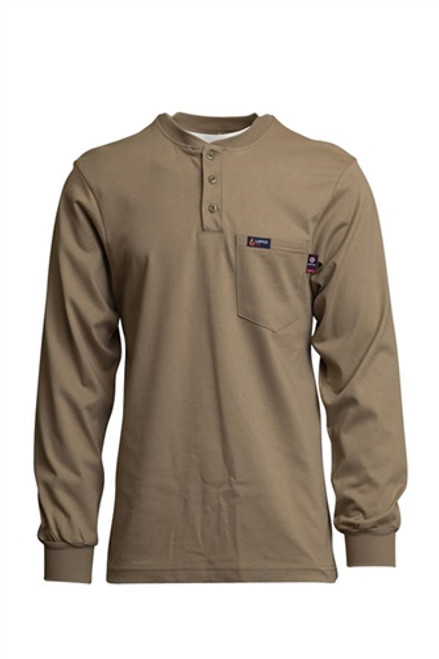 Lapco FR Assorted Colors Henley Shirt