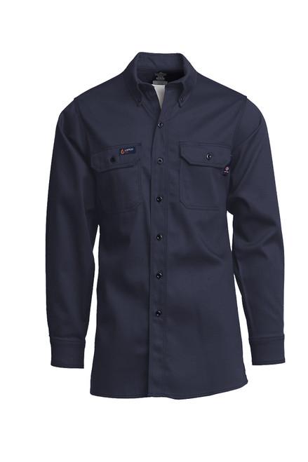 Lapco Fire Resistant Shirt Navy