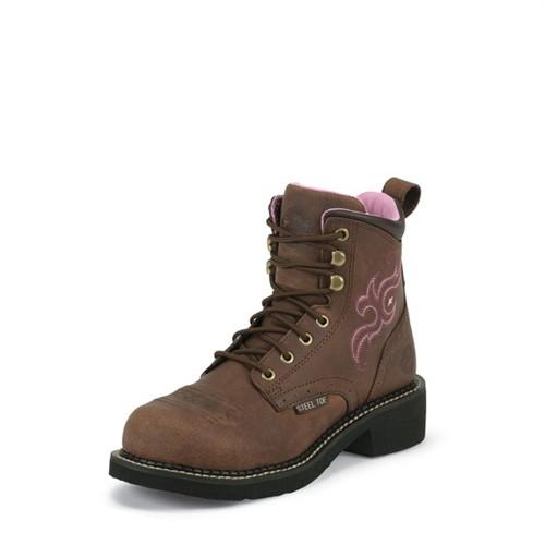 Justin Women's Katerina Steel Toe Boots