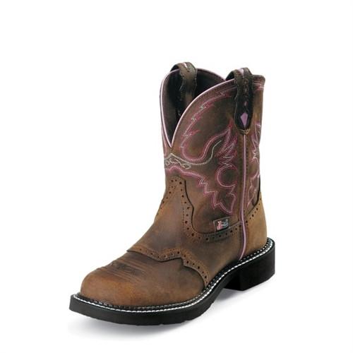 Justin Women's Wanette Steel Toe Boots