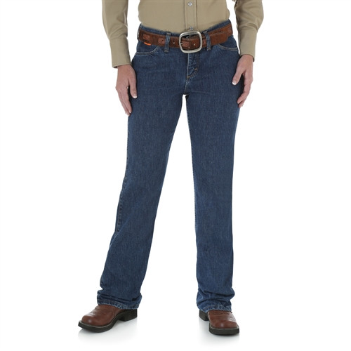 Wrangler Women's Flame Resistant Boot Cut Jeans | FRW10DD