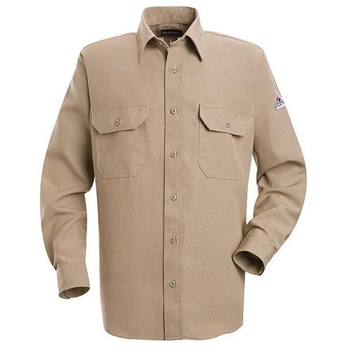 Bulwark Nomex Flame Resistant Uniform Shirt - Tan