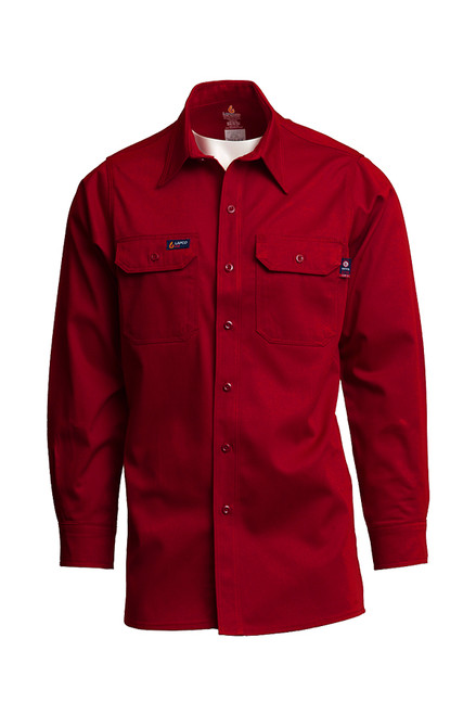 Lapco Fire Resistant Shirt Red