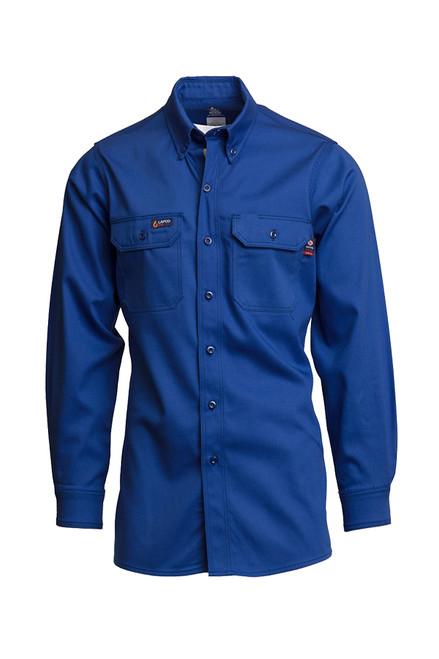 Lapco Fire Resistant Shirt Royal Blue