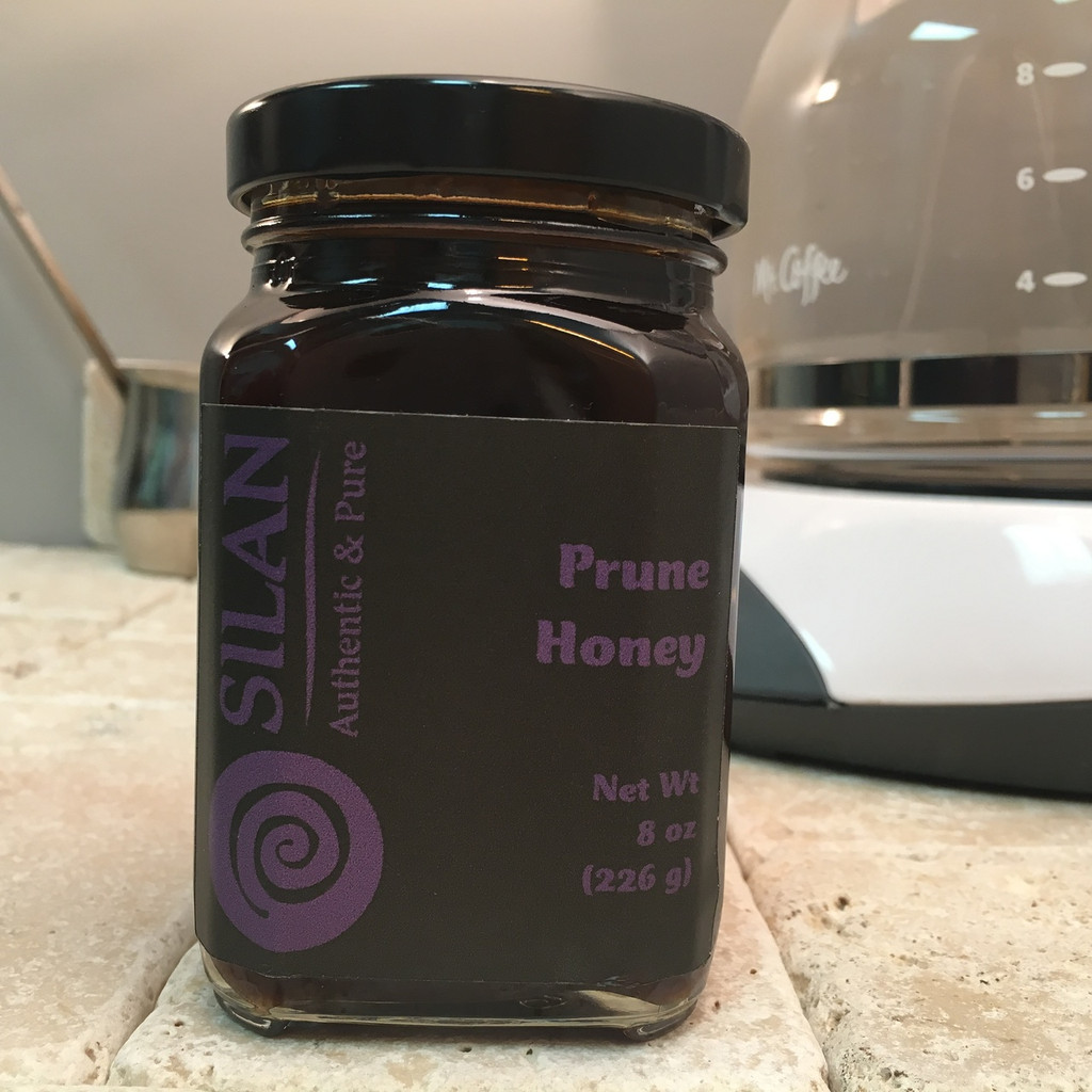 100% Pure Prune Honey - 8 oz. Jar