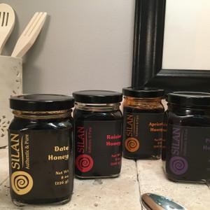 4 Flavor Variety Pack - Fruit Honey (four 8 oz. jars)