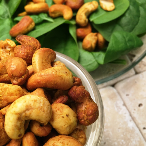 Curry Cashews