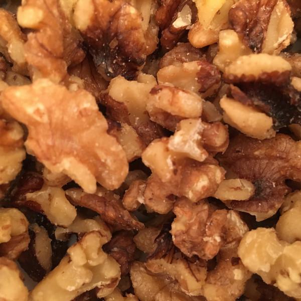 Lightly Glazed Walnuts - (Bulk, by the lb.)