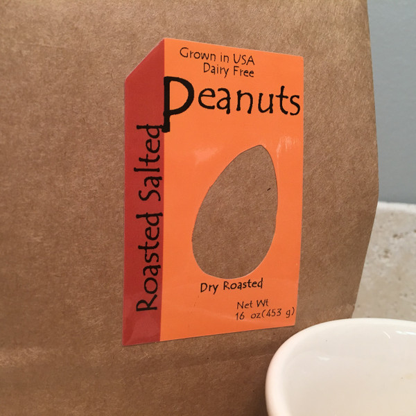 Redskin Peanuts Roasted Salted-(Bulk by the lb.)
