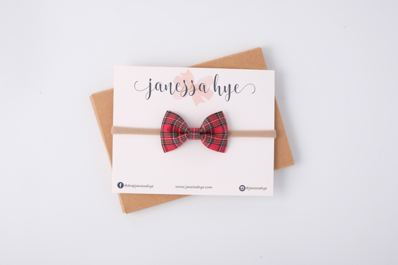 Janey Bow (Plaid series)
