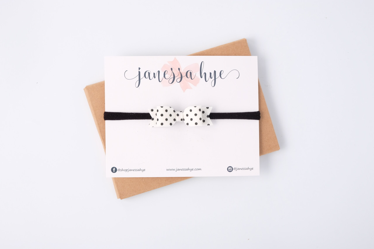 Jovie Bow (Polka Dots)