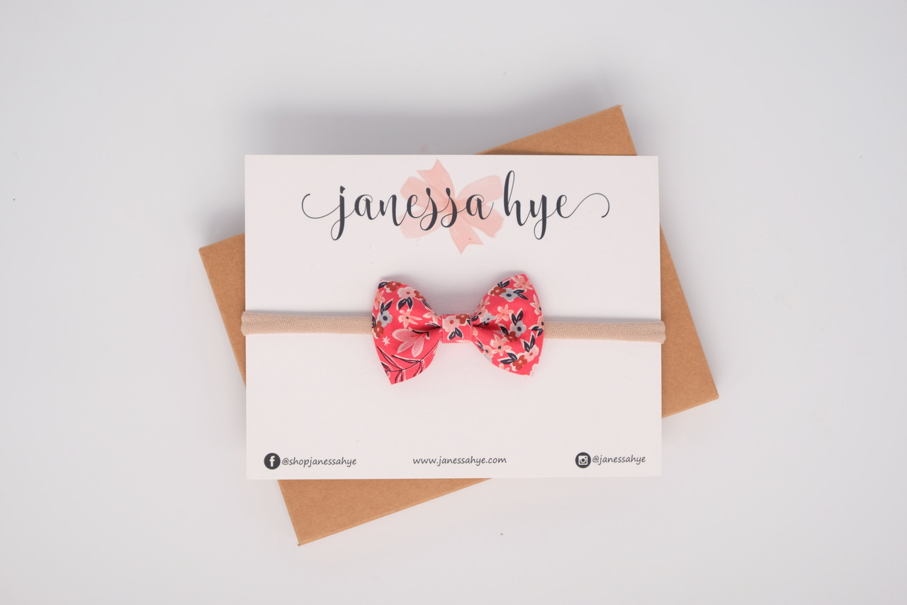 Janey Bow (Floral)