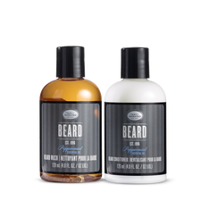 Beard Wash and Beard Conditioner Set