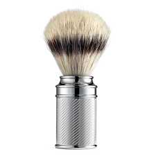 Embossed Silvertip Synthetic Shaving Brush