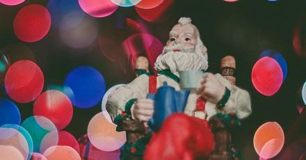 The Art of Shaving Santa