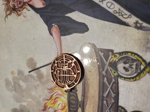 Naberius Goetia cast seal ring