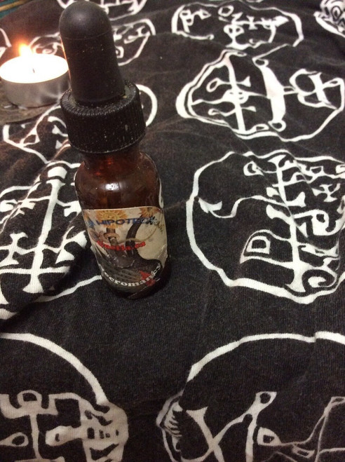 Vepar Goetia grimoire demon evocation oil