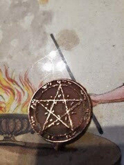 5th GKOS pentacle of Saturn