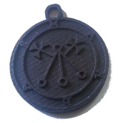 Marbas cast Daemon Demon seal pendant 2 inches