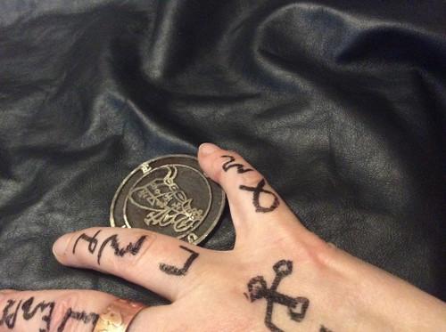 Bune cast Daemon Demon seal pendant 2 inches