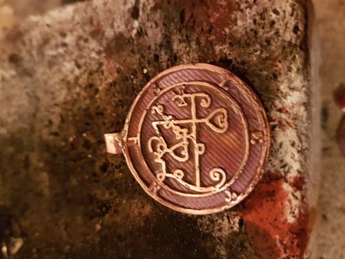 Beleth cast Daemon Demon seal pendant 1 inch