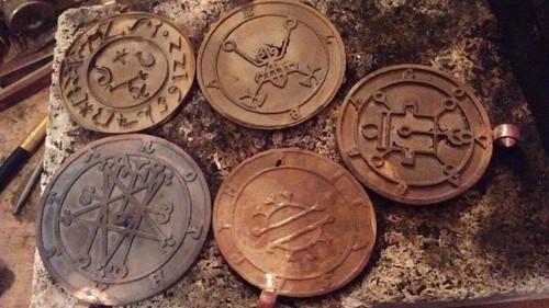 Ronové Goetia cast seal ring