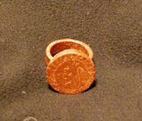 4 Black Pullet ring Make you loved