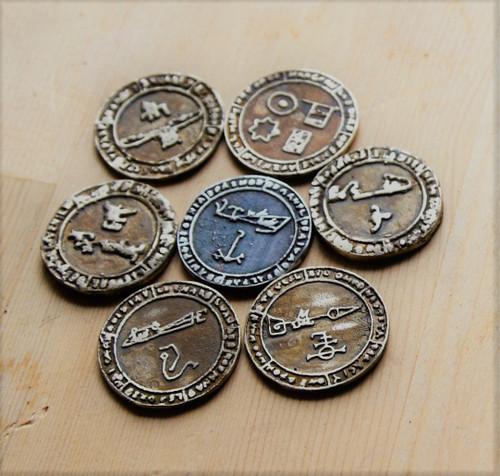 Enochian magick talisman pendant  of  CANCER 1