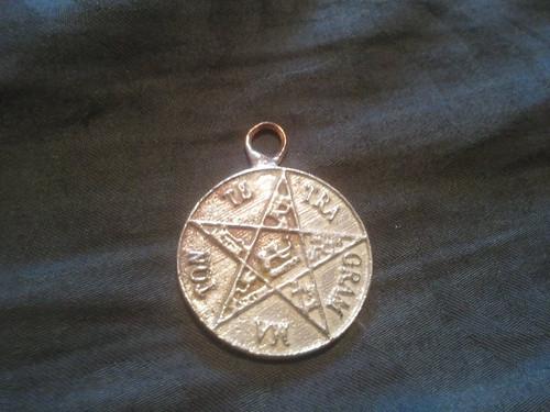 Pentagram of Solomon for Goetia Evocation