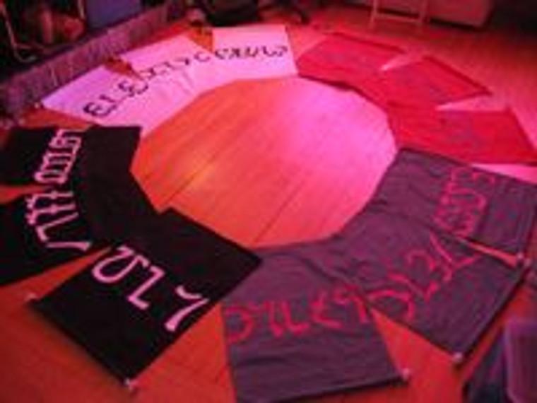 Enochian banners all 12
