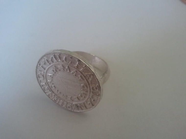 Silver Ring of Solomon