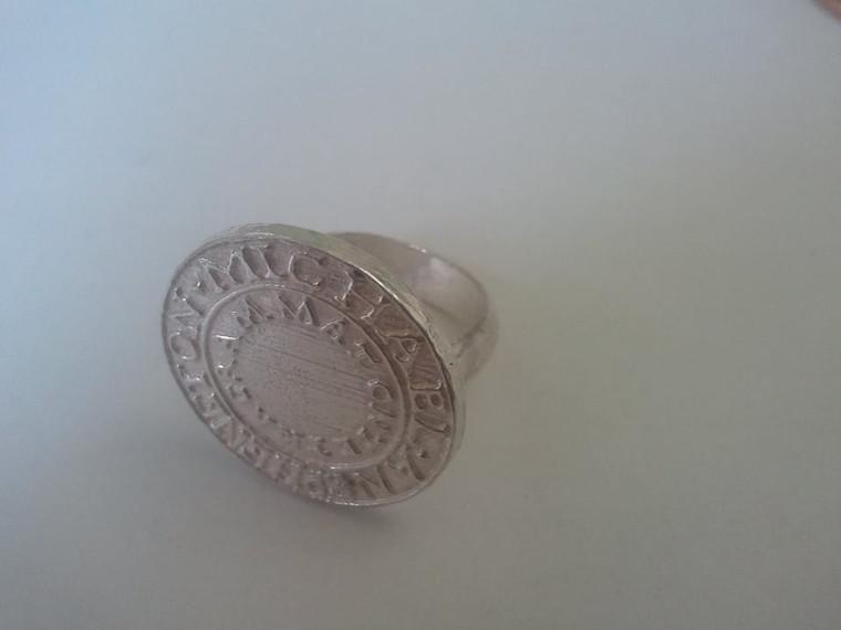 Silver Ring of Solomon