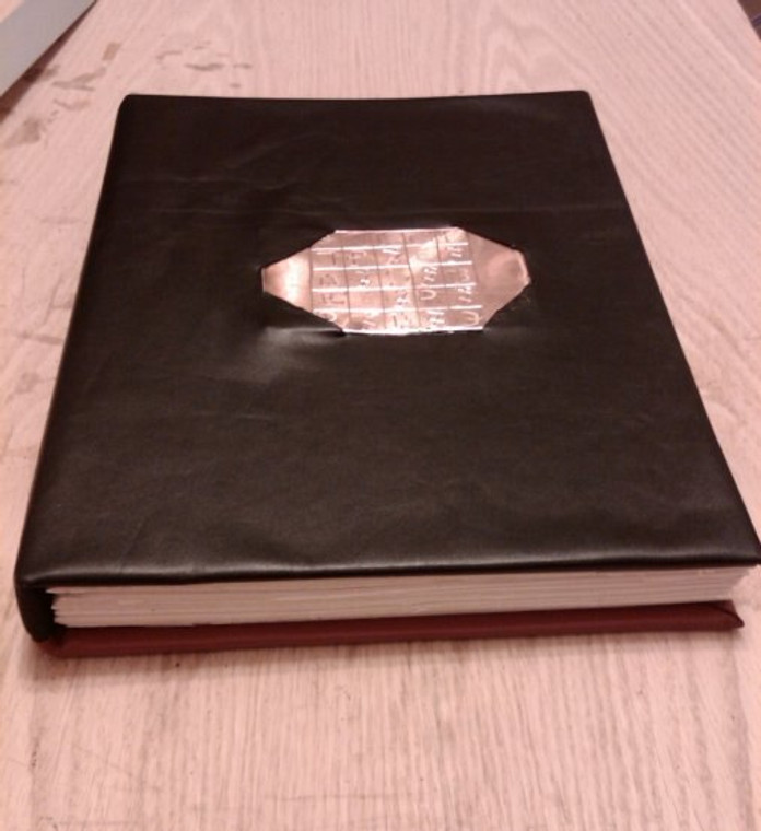 ENOCHIAN Grimoire HANDBOUND in  LEATHER Magick Occult