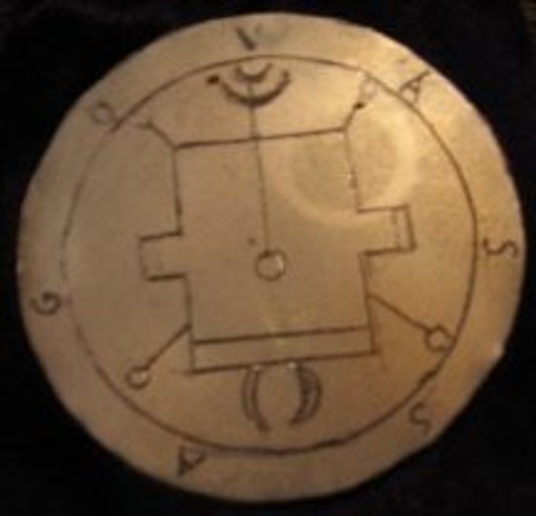 Brass 3 inch disc