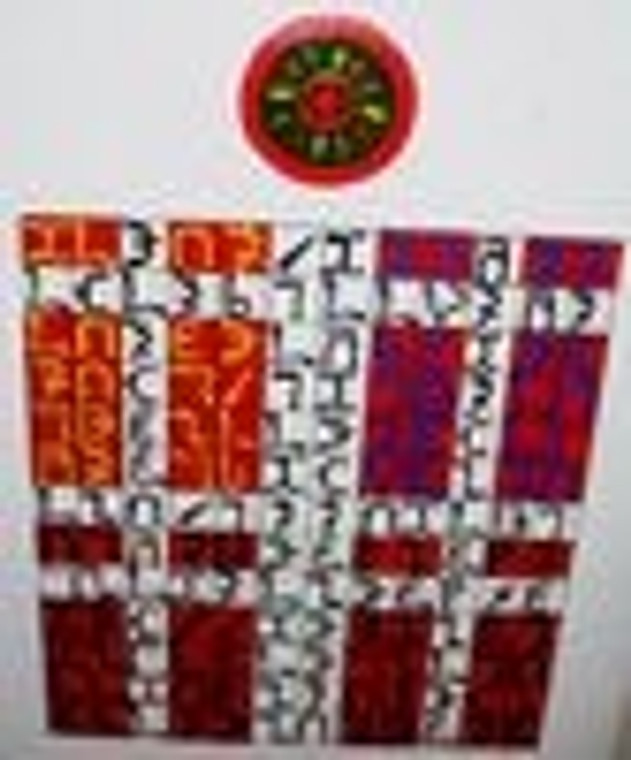 Enochian tablets set of four hand painted on wood