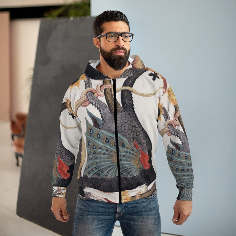 Alchemy Daemon zip hoodie