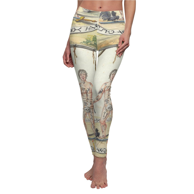 Gallows grimoire leggings
