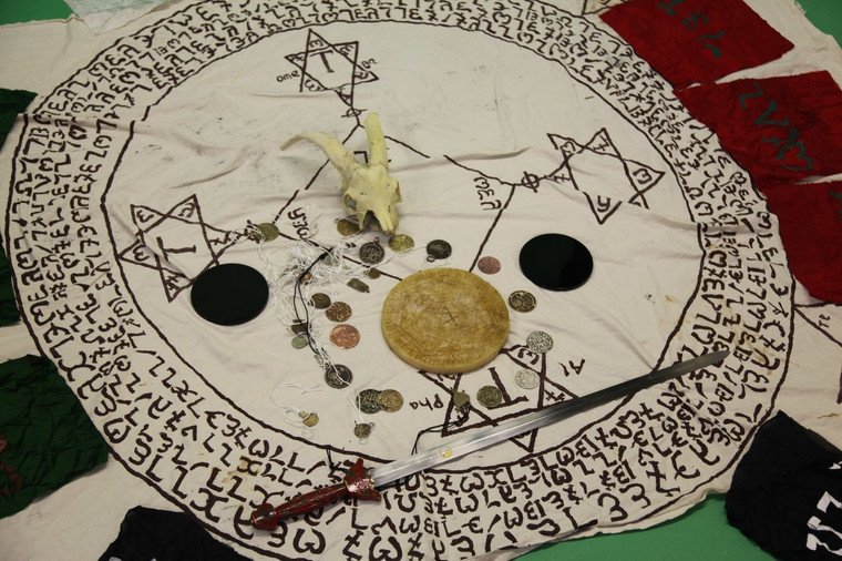 An evocation to obtain a spirit seal and description