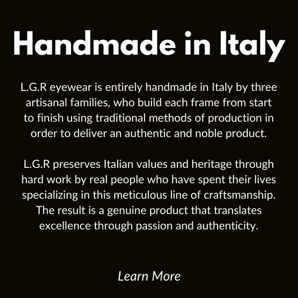 Handmade in italy.