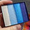 Global Colours face paint Australia 50g split cake Elsa Magic was Antarctica size comparison