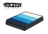 Global Colours face paint Australia 50g split cake Elsa Magic was Antarctica