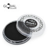 STRONG BLACK Face and Body Paint Makeup by Global Colours *New Formula*