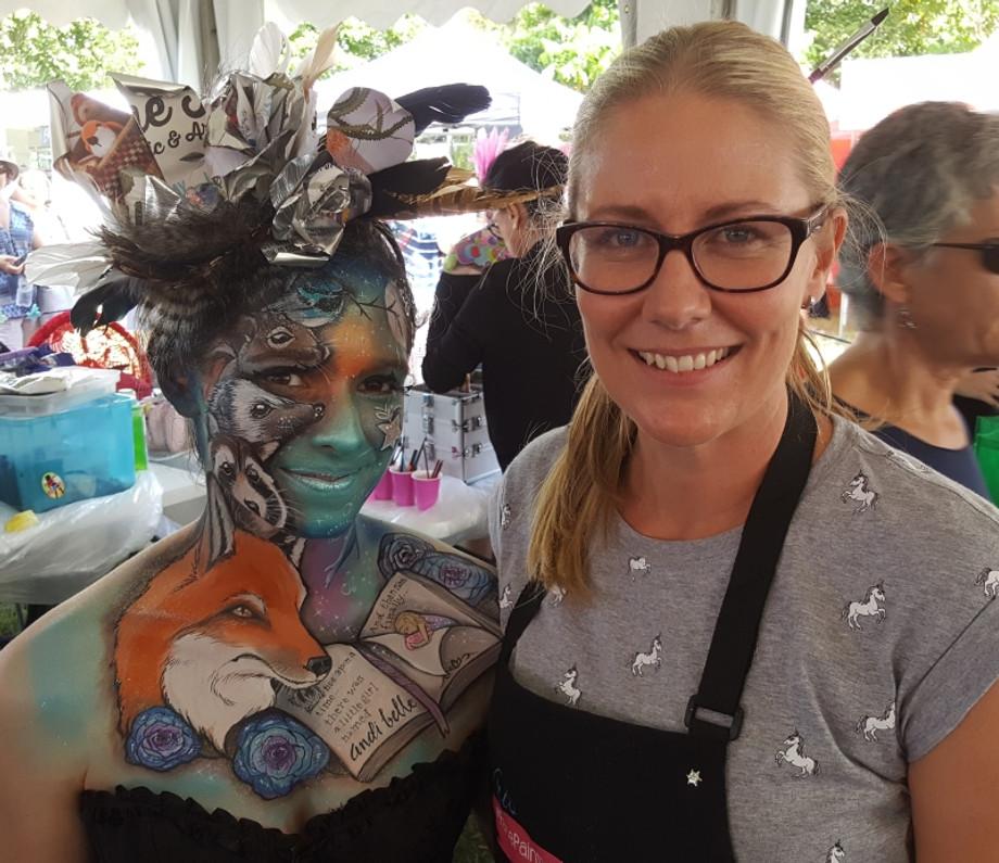Meet our Sponsored Artist for the Australian Body Art Festival 2019 - Kristy O'Neil