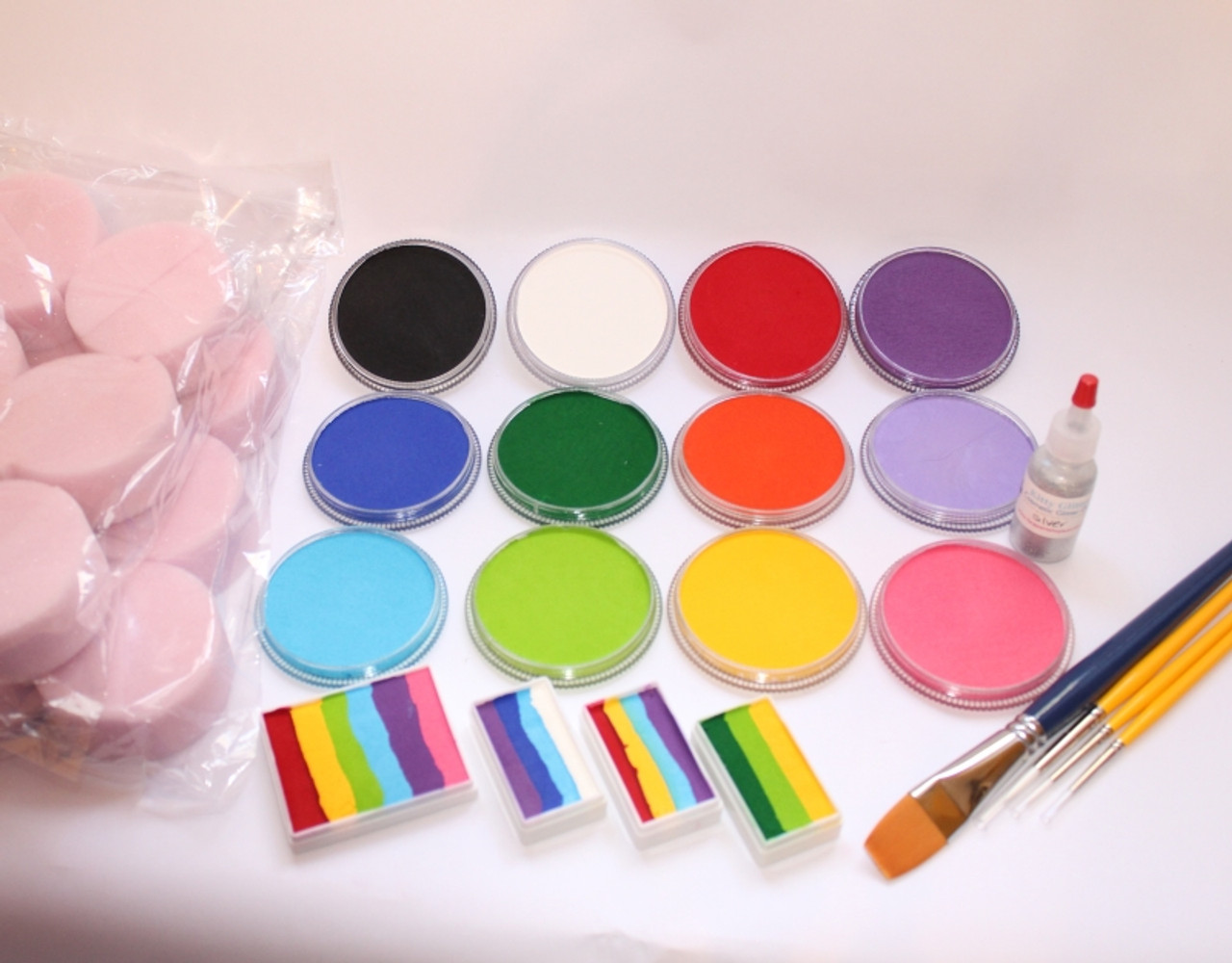 Full Size Face Paint Kits for Pros