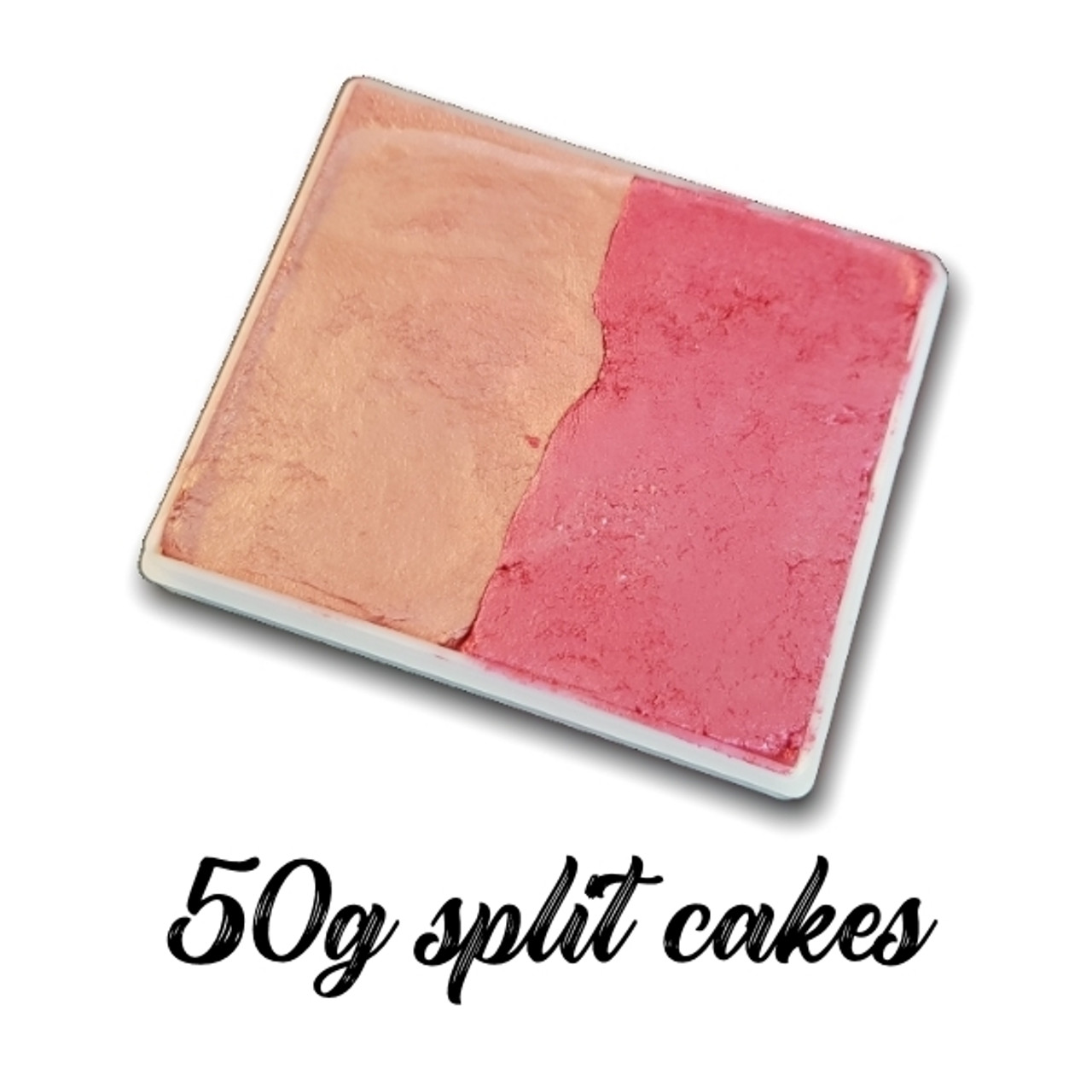 50g split cakes two colour